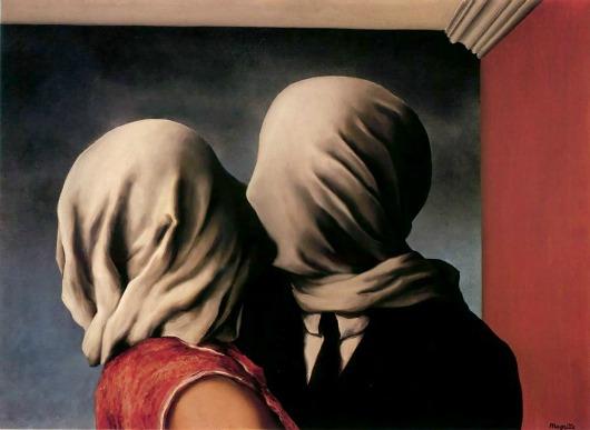 Los amantes de René Magritte