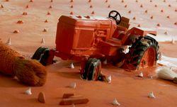 El tractor calabaza de Blanc - el abuelo de Siset de David Ymbernon