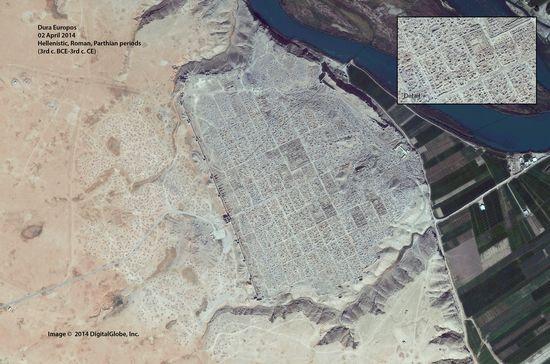 Siria excavaciones 2014