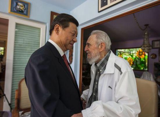 XI Jinping y Castro