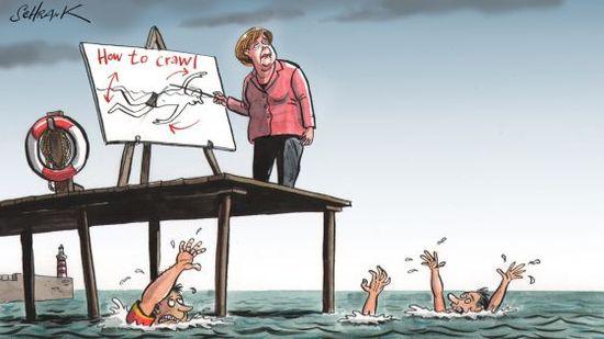 Viñeta cedida por The Economist (1)