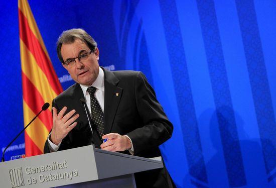 El-presidente-de-la-Generalitat-de-Cataluna--Artur-Mas--en-rueda-de-prensa