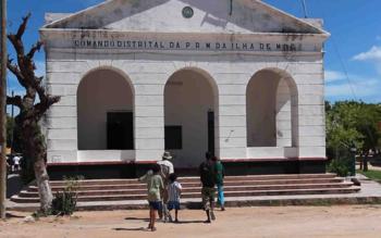 Comisaria ilha de mozambique. sinewan.com