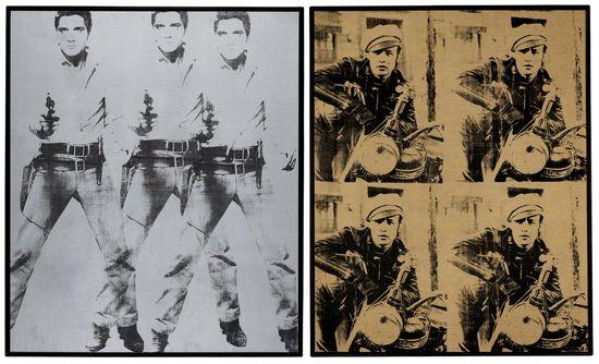Warhol Presley