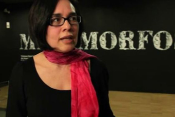 Carolina Lopez interviewed at the CCCB, March 2014