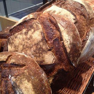 Hogazas de pan de payés