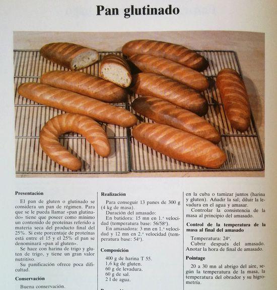 Pan glutinado