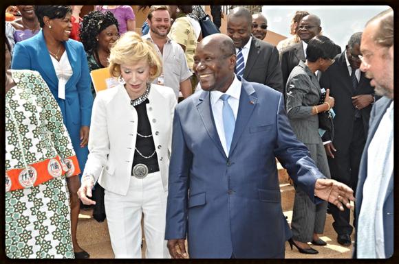 Fernandez de la vega en el congreso africa con eñe