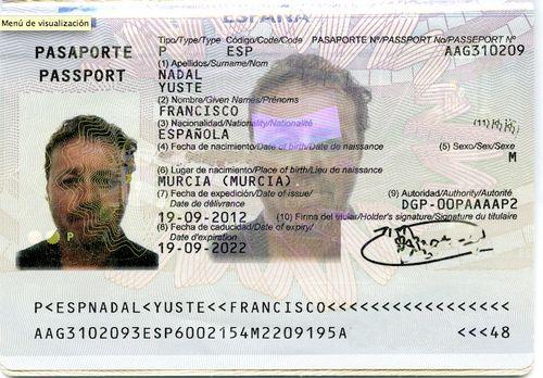 Pasaporte perdido