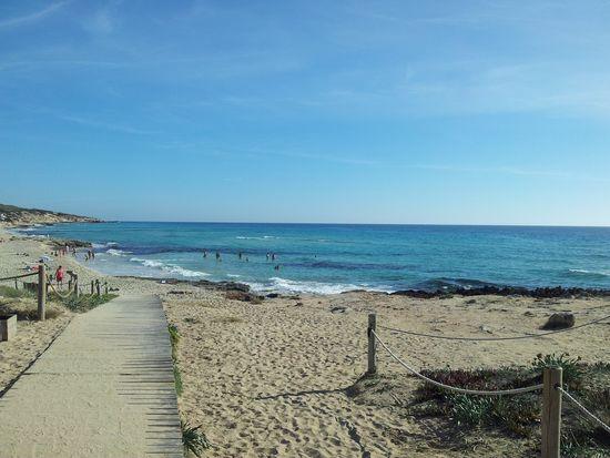 Platja Mitjorn, Formentera