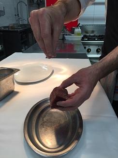 2) Salado de la carne