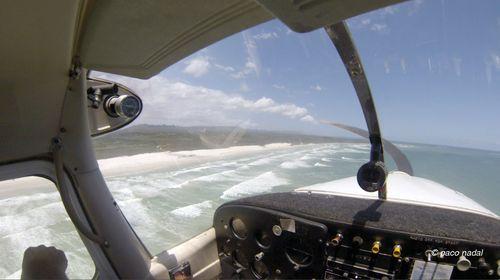 Vuelo en avioneta, Sudáfrica-Paco Nadal