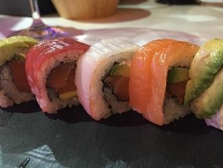 Sushi rolls de Okasan