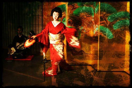 Geisha Kioto. Isidoro Merino