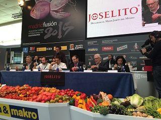 Mesa del jurado, Juanma Bellver, Nacho Manzano, Francis Paniego,, José Gómez, Francis Vega y Julia Pérez
