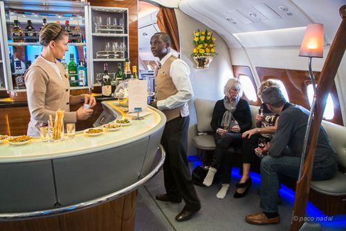Businness Class A380 Emirates
