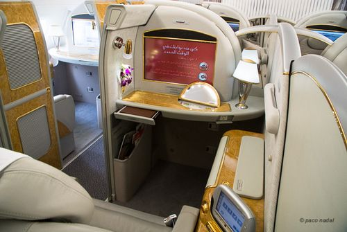 First Class A380 Emirates 3