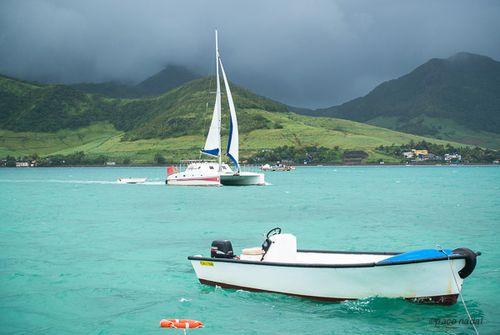 3. Mauricio, paseo en catamarán