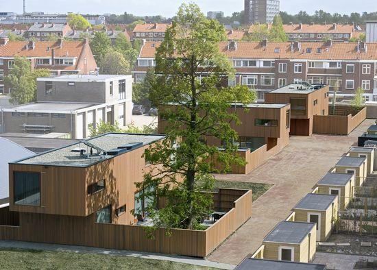 CHA_villas groningen_van der Vlugt