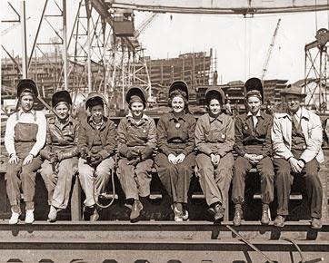 Mujeres trabajadoras 1942