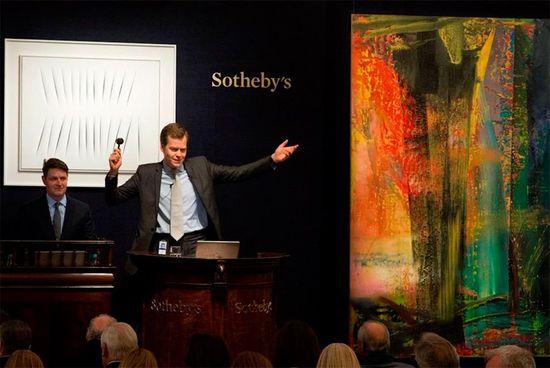 Richter Record Sothebys