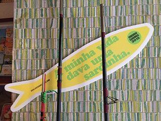 Mi vida por una sardina, un eslogan que se repite por toda Lisboa