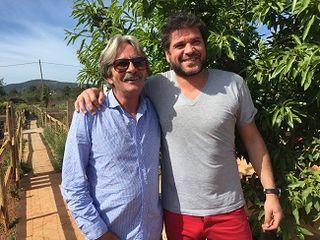 Ronnie y David en  Ca´n Pere Mussona