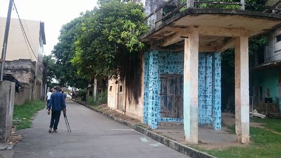 Casa azules