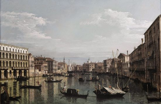 Castle Howard - Venice, View of the Grand Canal