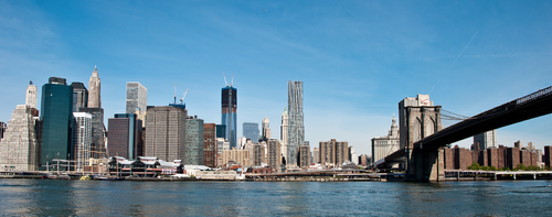 NYC desde puente Brooklyn