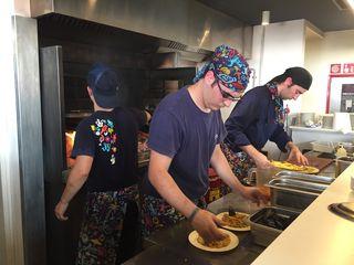 Cocinado a la parrilla