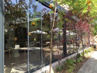 El invernadero, restaurante de Rodrigo de la Calle desde el exterior