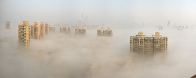 City in pollution