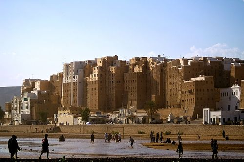 Shibam_skyline by Peterfitzgerald httpwikitravel.orgenFileShibam_skyline.jpg