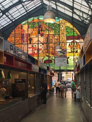 Mercado de las Atarazanas en Málaga