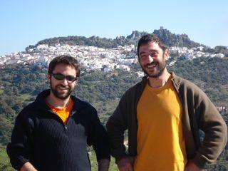 Álvaro de la Torre y Eduardo Antón en el entorno de Grazalema (Cádiz)