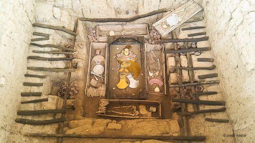 Huaca Rajada, tumba señor de Sipán - Paco Nadal