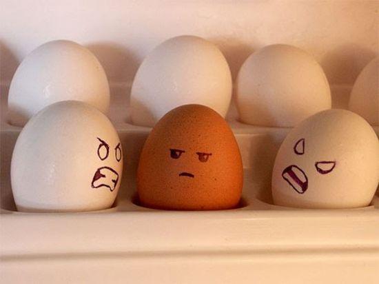 Telur-berbeda