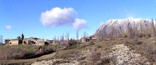 Panorámica Villacarli y Turbón