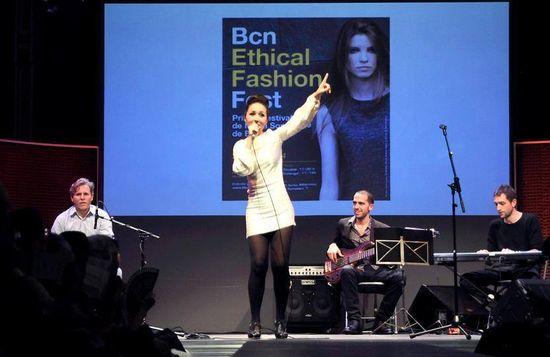 Carmen Doorá el año pasado en el Fest