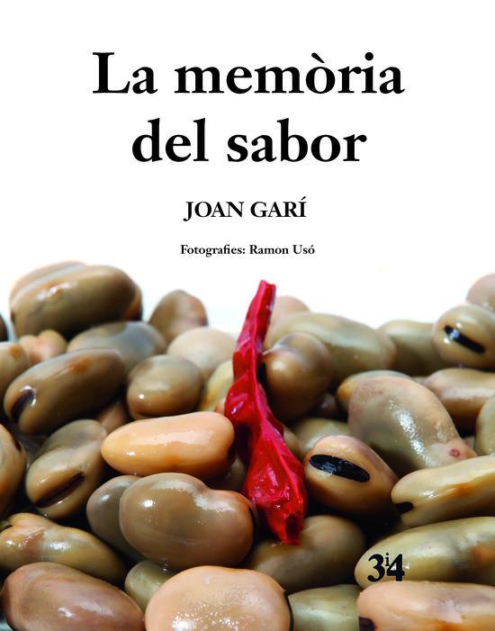 Portada del llibre La memòria del sabor, de Joan Garí