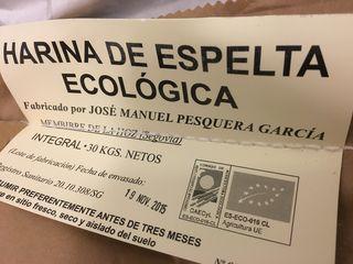 Harinas escogidas, algunas ecológicas
