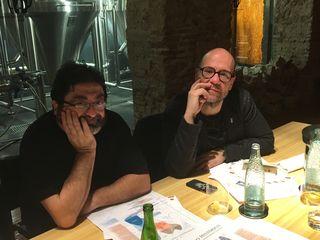 Jordi Butrón y Quico Sosa
