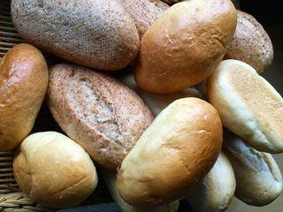Panes pequeños.