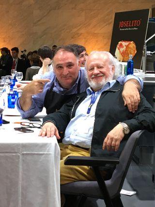 Dos miembros del jurado, José Andrés y Juan Echanove