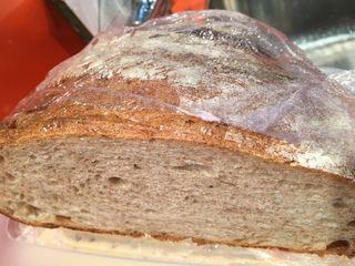 Pan de hogaza  de la sierra de Cuenca utilizado por el ganador para el rebozo de sus croquetas