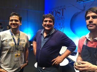 Jorge Vallejo, Virgilio Martínez y Mauro Colagreco _