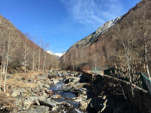 Cauce del río Noguera de Tavascán