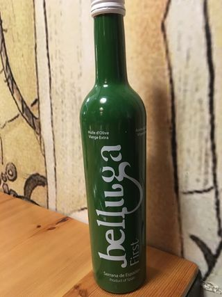 Botella del AOVE Belluga First