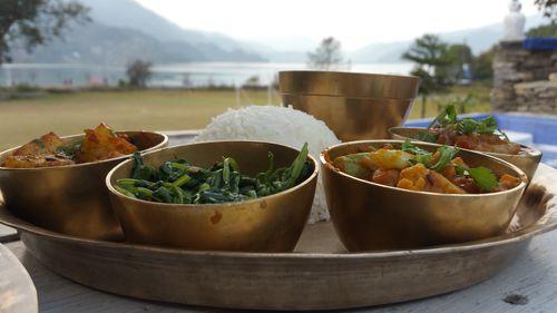 Comida Nepalí